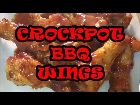 CROCKPOT BBQ WINGS, RICHARD IN THE KITHEN