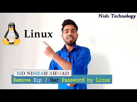 Password Cracking Zip or Rar File in Linux