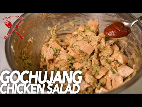 Gochujang Chicken Salad  - Isobe Food