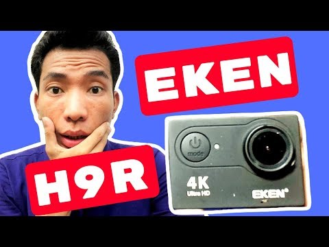 Eken H9R Unboxing Video Test and Cheap Price 4k Action Camera review in Bangladesh