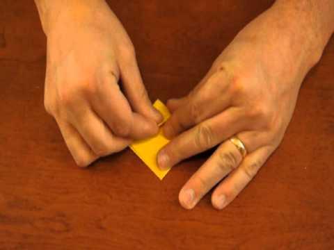 Origami Blow Up Paper Box Walkthrough  - Basic Cube Square