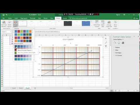 MS EXCEL CLASS 10 .HOW TO LOG-LOG GRAPH PLOT BY MS EXCEL
