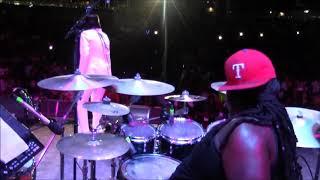Reggae Drummer Dyrol (Chops) Randall Live with  Glen Washington