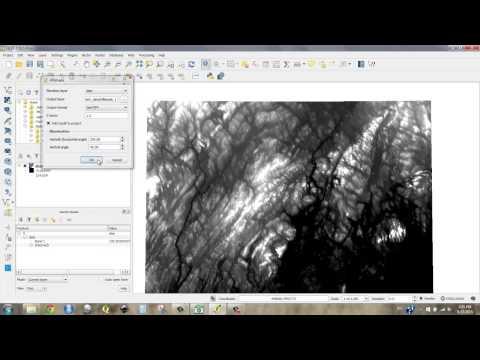 Basic Terrain Tools in QGIS
