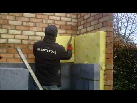 the fine art of brickwork - Extension pt 2 - Cavity wall