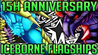 Every Flagship Coming to Iceborne - 15th Anniversary Update - Monster Hunter World! (Discussion/Fun)