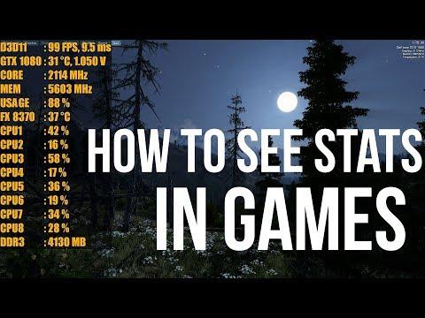 Show FPS In Games Afterburner Guide #PGNETWORK