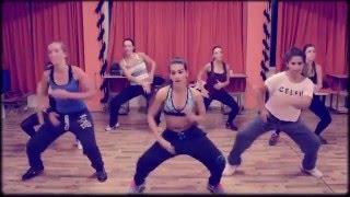 رقص بنات روعه على دي جي ( اجنبي )  /   Zumba Fitness Choreography  & DJ