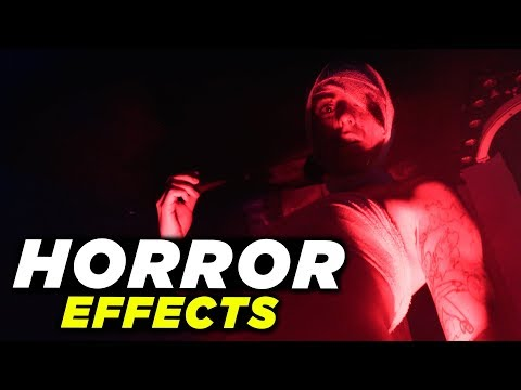 Horror Movie Effects Tutorial Adobe Premiere Pro! (2018)