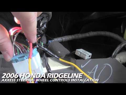 Axxess Steering Wheel Control Installation | Honda Ridgeline | ASWC