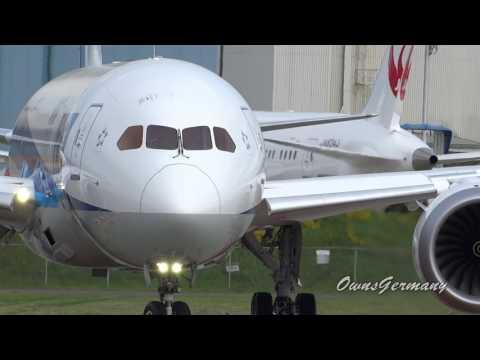 ANA 787 Dreamliner JA819A First Flight Back in 2014 @ KPAE Paine Field