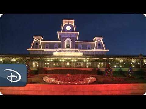 Time-Lapse: Magic Kingdom Park Transforms for Christmas