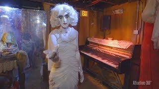 [4K] Soulmate Haunted Maze aboard the Queen Mary Ship - Dark Harbor 2017