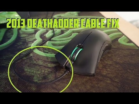 How to Change Razer Death Adder 2013 Braided Cable and Feet