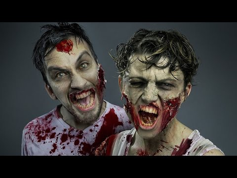 The Walkind Dead Zombie (Photoshop Halloween Tutorial)