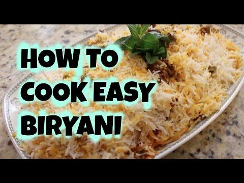 QUICK AND EASY BEEF BIRYANI RECIPE