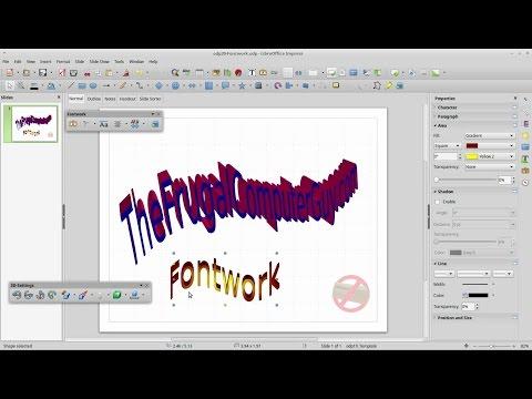 Impress (20) – Fontwork