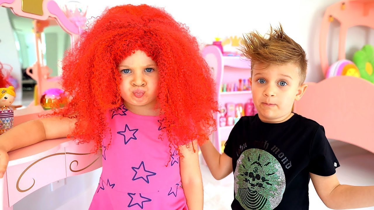 Diana quer ser bonita - Videos divertido infantil