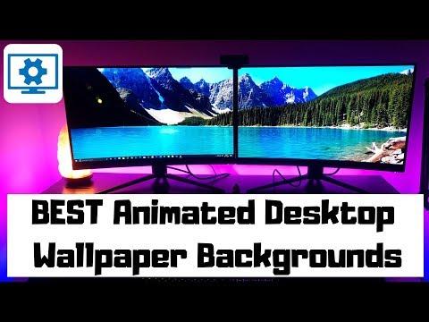 BEST Animated Desktop Wallpaper Backgrounds