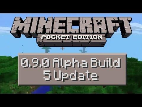 Minecraft Pocket Edition Alpha 0.9.0 Build 5 Update