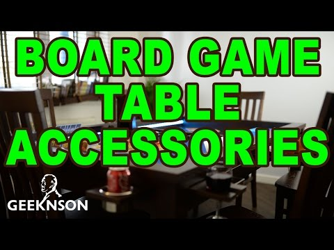 Board Game Table Accessories