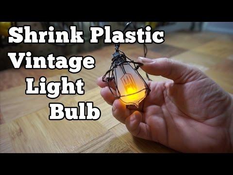 Shrink Plastic Light Bulb | Barb Makes Things #3