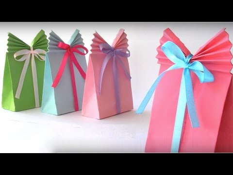 How to Make beautiful Paper Gift Bag | Paper Bag Origami | PaperMade