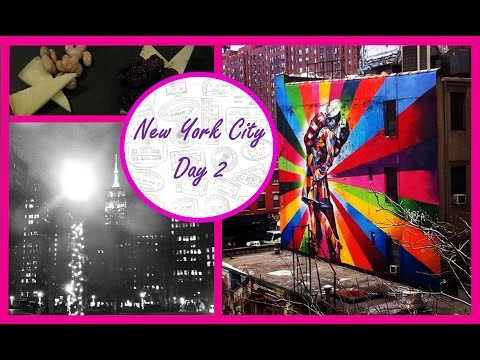 The High Line, Chelsea Market & New York Jazz - Christmas in New York City (NYC) Day 2
