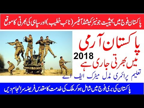 How to Apply for Pakistan Army - Online Registration of Pak Army 2018 Urdu