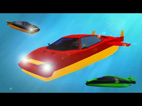 SUBMARINE + SUPERCAR = AWESOME! (GTA 5 DLC)
