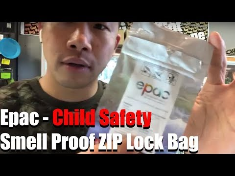 Epac - Child Safety Smell Proof ZIP Lock Bag