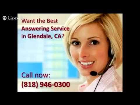Answering Service Glendale CA | 818-946-0300 | California Virtual Office | 91221