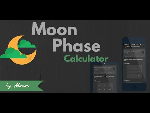 MOON PHASE CALCULATOR - Android App