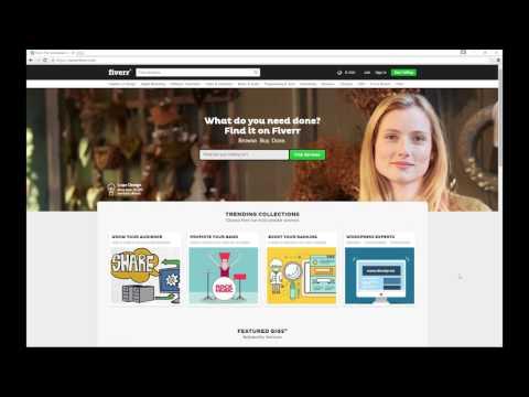 Blender For Noobs - Offering your modeling services on Fiverr