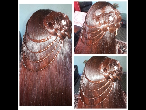 party hairstyle 2017 for young girls
