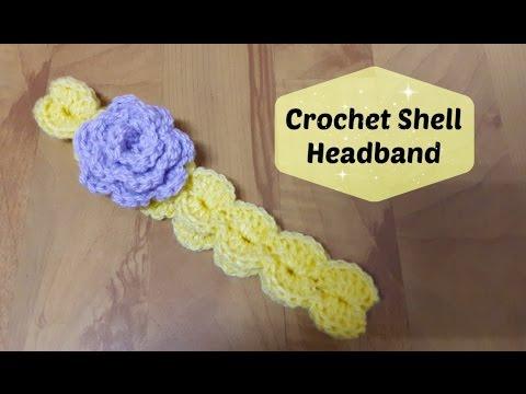 How to crochet a shell headband? | !Crochet!