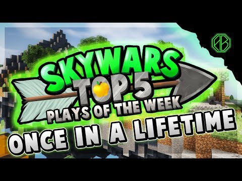 ONCE IN A LIFETIME CLIP! - Top 5 SKYWARS PLAYS of the Week