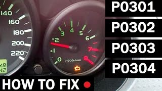 p0301 p0302 p0303 p0304 how to fix misfire