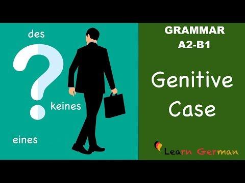 Learn German | German Grammar | Genitiv | Genitive case | A2 | B1