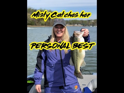 Lake Chickamagua Trip 2018! Misty catches her PB!!!