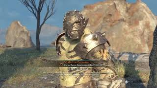 Shadow Of War: What Happens When You Leave An Uruk Follower To Die...whoops