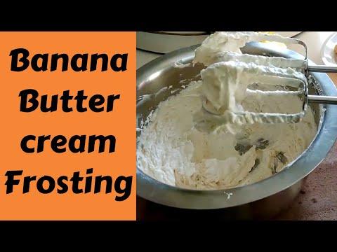 Banana Buttercream Frosting