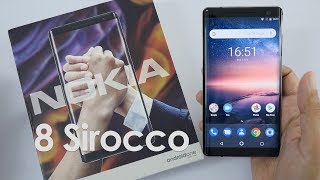 Nokia 8 Sirocco Unboxing & Overview - Nokia