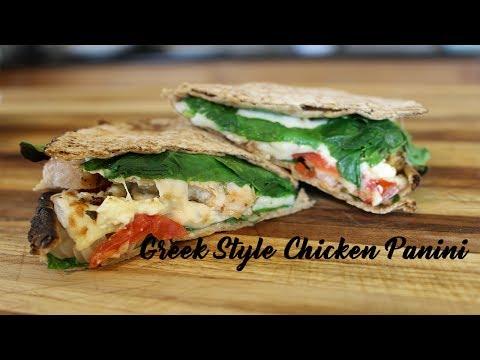 Greek Style Chicken Panini