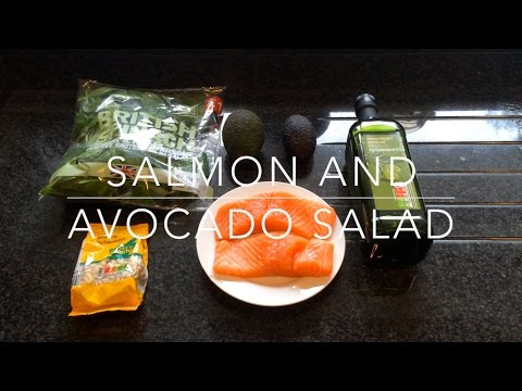 Avocado and Salmon Salad Recipe