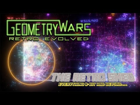 Geometry Wars | The Retro Shed