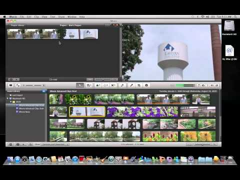 iMovie 11: Adding Clips to a Project