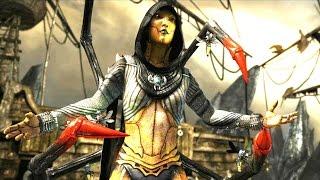 Mortal Kombat X - D'Vorah Klassic Arcade Ladder Gameplay Playthrough