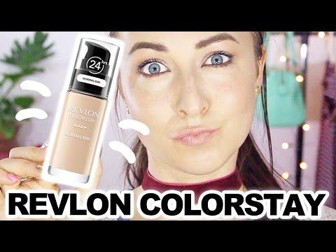Revlon Colorstay Makeup Foundation - Review & Demo