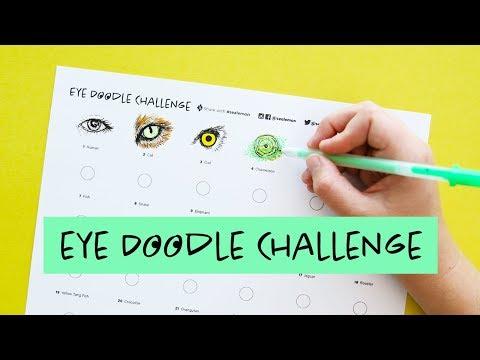 Eye Doodle Challenge | Sea Lemon